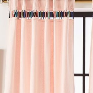 Anthropologie Embroidered Pibar Curtain one panel